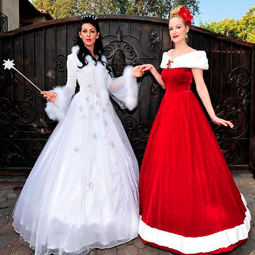 christmaswhiteredprincesses